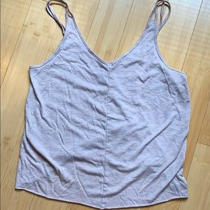 Alo slit back tank top